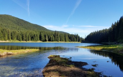 There and back again:  Lost Lake (overcoming personal challenges)