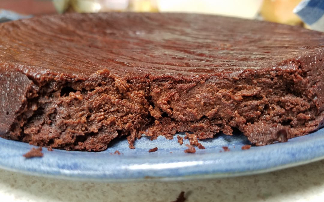 Paleo-friendly Gluten Free Chocolate cake of doom
